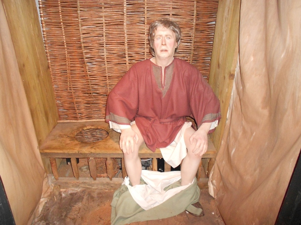 A Viking man in Dublinia museum
