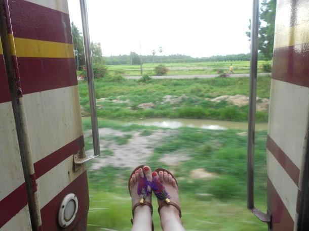 Thailand, sleeper train to Surat Thani