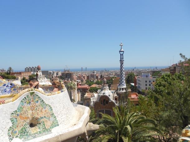 Park Güell, Barcelona, Gaudi