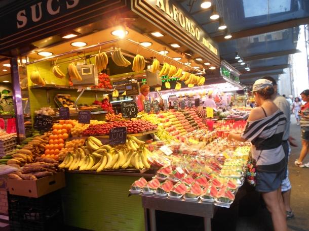 La Boqueria, Barcelona market