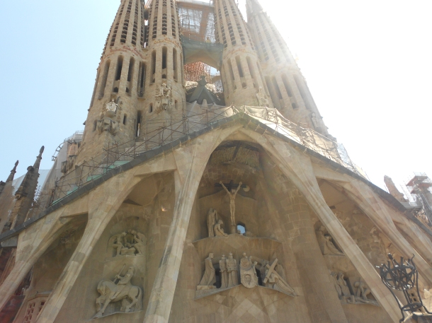 The Sagrada Familia, Gaudi, Barcelona