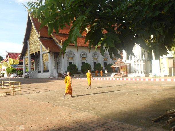 Chiang Mai temple monks
