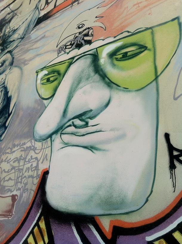 Graffiti, granada