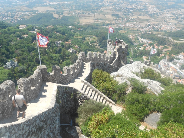 Moorish Castle, Sintra, Portugal