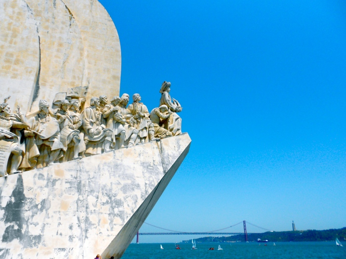 Monument of the discoveries Belem