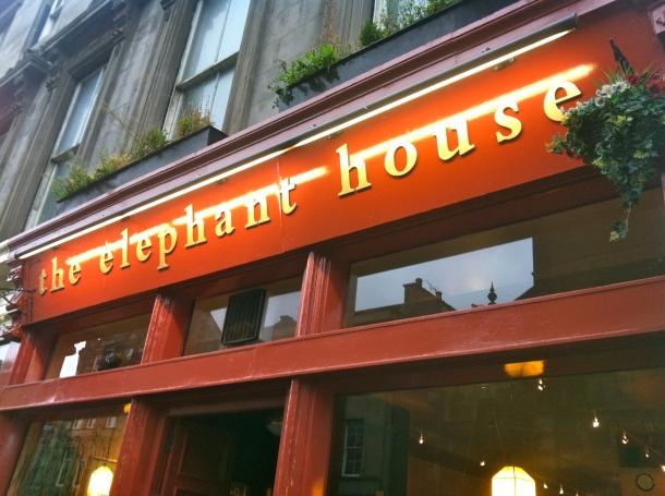 Elephant House cafe, Edinburgh