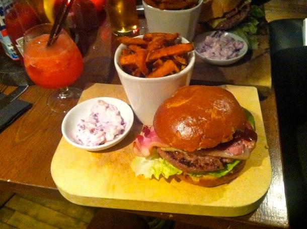 Holyrood 9A, Edinburgh, Scotland, Burgers