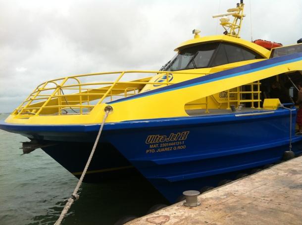 Ultramar Isla Mujeres ferry