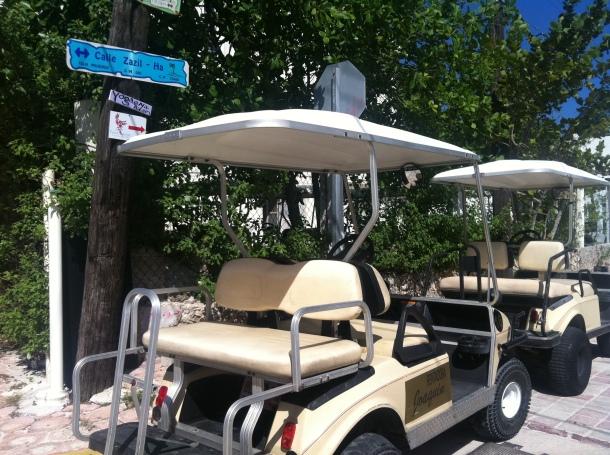 Isla Mujeres golf carts