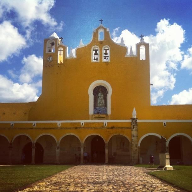 Izamal, Mexico, Yucatan, Colonial Buildings