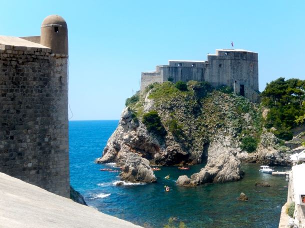 Dubrovnik, Game of Thrones, King's Landing, Fort Fort Lovrijenac