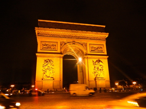 Arc de triomphe, paris, travel