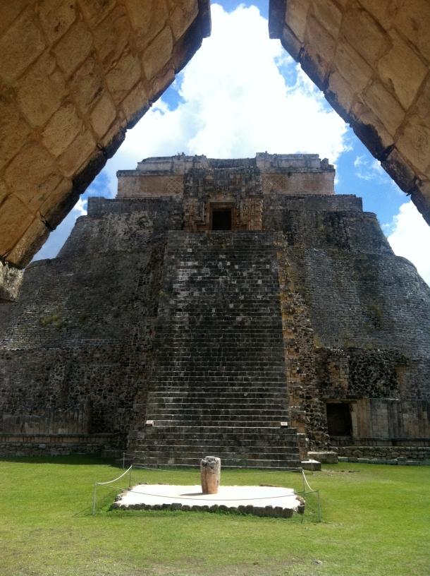 Uxmal, Mexico, Yucatan, Ruins