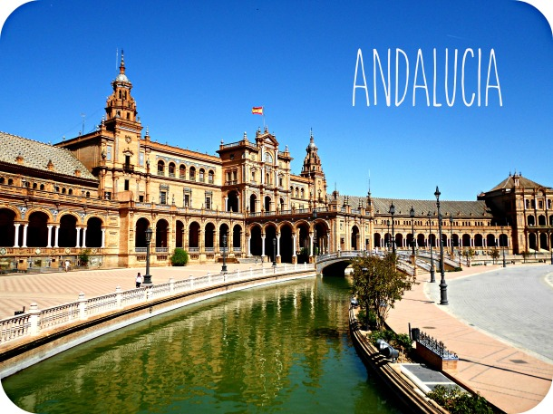 Seville, Plaza de Espana, Seville backpacking, Andalucia backpacking