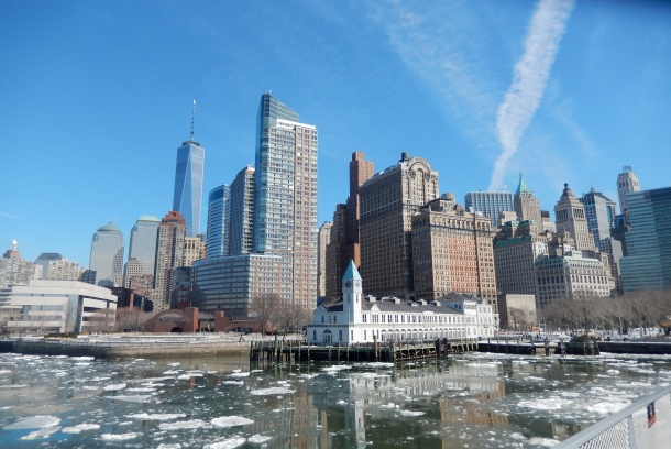 New York, New York in winter, NYC winter, New York in February, Frozen New York, NYC in snow, Ellis Island Ferry, 5 days in New York, Downtown New York, Manhattan