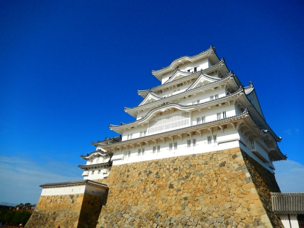 Himeji, Himeji Castle, Japan, Castles Japan, Backpacking Japan, Day trips from Tokyo, Japanese castle